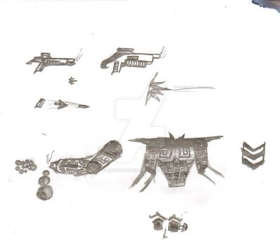 Weapons and Armors_2 by ArkeinaForce
