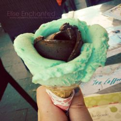 Rose Ice cream by EliseEnchanted
