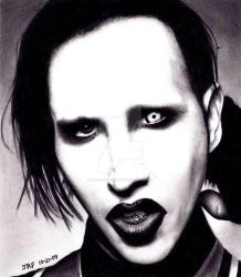 Marilyn Manson by Doctor-Pencil