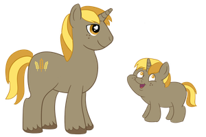 Wheatly - MLP OC by Wildfire-Tama