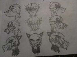 Head Concepts by thedestoryerofworlds