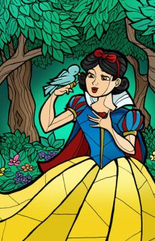 Snow White by CThompsonArt