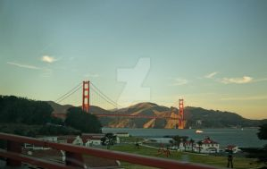 Golden Gate Bridge by TheBirdsFeathers