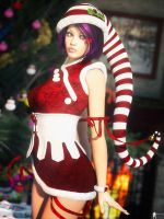 Christmas Pin-Up 24 by LaMuserie