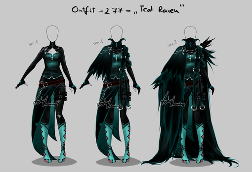 Outfit design - 277  - closed by LotusLumino