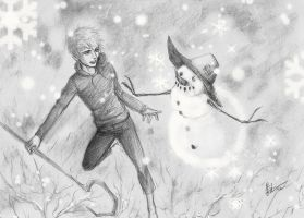 Jack Frost and Mr Snowman by Ameyama