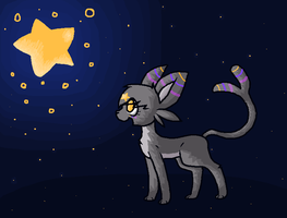 Stellar the espeon? by sophisticatedghost