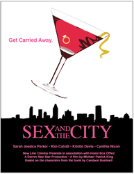 Sex and the City Movie Poster by darth-cena