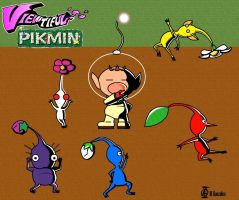 Viewtiful Pikmin by Shinkuro