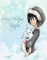 Xmas Card: Kayla by cindre