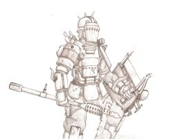 Fallout Warrior by ToxicPigeon