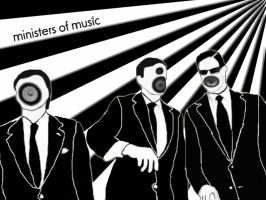ministers of music by Kelsievent