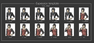 Khail expression template by Antarija