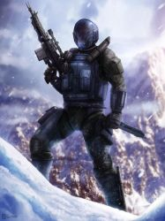 Ballistic Trooper by Rahll
