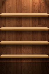 4 Shelves iPhone by bellevino