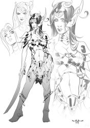 Dejah Thoris      Chacacters study by qualano