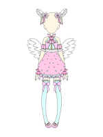 Mocha's Coord Contest Entry ~ Winged Hearts! by TheDancerOfapurehear