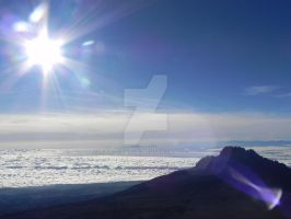 The summit of Kilimanjaro by Sam-Castle