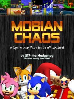 'Mobian Chaos' Comic Cover by mjponso