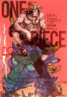 One Piece - Ace's Novel 4th Coloration by Perladellanotte