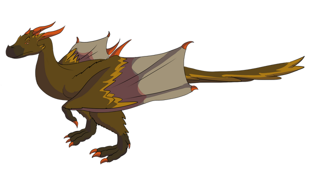 Scientifically Accurate Dragon by SpeedAction