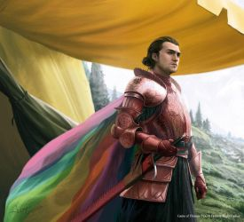 Ser Robar Royce for Game of Thrones by 1oshuart