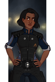 [ME] Indrani Shepard by hes-per-ides