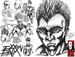 Faxon character study... by Evilspout
