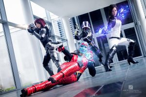 Mass Effect Group Cosplay Evil-Siren by Evil-Siren