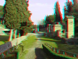 Pompei 28 3D Anaglyph by yellowishhaze