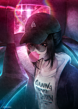 Running From My Shadow by Aeusthetic