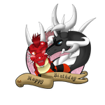 B-Day Gift - Thorn and Naeda by Naeda