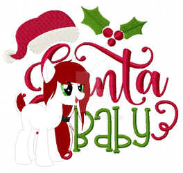 Chirstmas Pony Adopt - Day 10  - open by Kanean