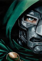 Dr. Doom by meralc