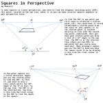 How to Draw Squares in Perspective by Audiazif