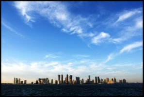 Doha Horizon by pen-it-black