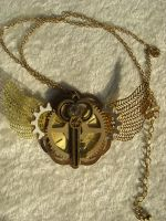 key wings necklace by TimelessCharm