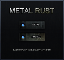 Metal Rust by easydisplayname