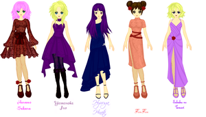 Kuniochi Dresses by ForbiddenObsession
