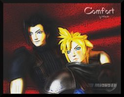 .:Zack and Cloud: Comfort:. by Miarath