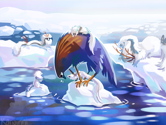 Polar Adventures by Karijinni