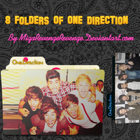 Folders One Direction by MiqaRevengeRevenge