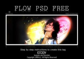 Flow PSD file:Learning Purpose by An1ken