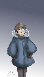 Cold night Cosy coat by o0NeonCola0o