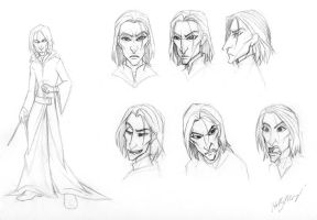 Snape design practice by Luthie13