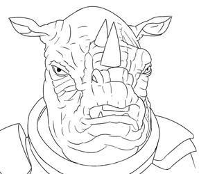 Colour-Your-Own Judoon by jinkies36