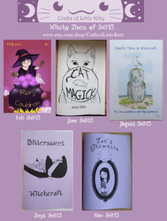 Witchy Zines of 2015 by rowanasabredancer
