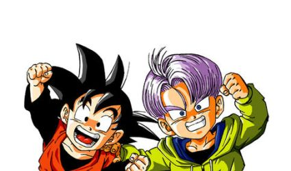 Goten and Trunks color by alfiov