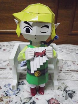 Link - front by nyanperona-chu