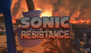 Sonic Resistance Wallpaper by NuryRush
